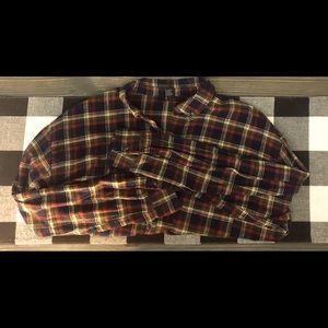 CROPPED women's flannel